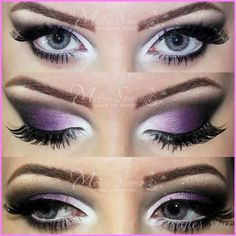 WHAT COLOR MAKEUP FOR A PURPLE DRESS - http://stylesstar.com/color-makeup-purple-dress.html