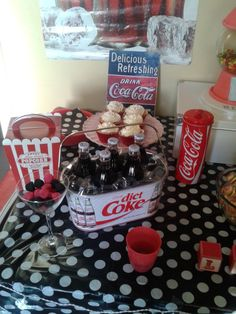 Teenage Coke party!  See more party ideas at CatchMyParty.com!