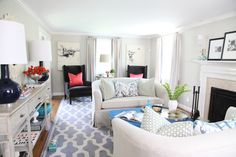 Tradition with a Twist Home Tour Gallery - Style Me Pretty