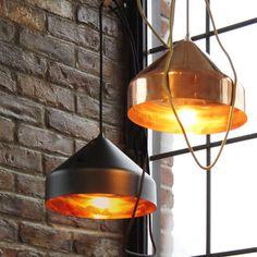 Dazzling Copper Pendant Lamps by Vij5 | MONOQI