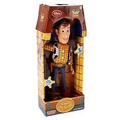 "Toy Story Pull String Woody 16"" Talking Figure - Disney Exclusive * Check out this great image @"