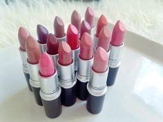 MAC Lipstick Collection!