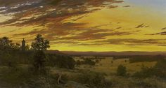 Erik Koeppel - Sunset from Little Roundtop, Gettysburg offered by Rehs Galleries, Inc. on InCollect Scary Ghost Pictures, Ghost Photos, Hudson River School Paintings, Gettysburg Ghosts, Real Haunted Houses, Paranormal Photos, Real Ghosts, Civil War Photos, Military Art