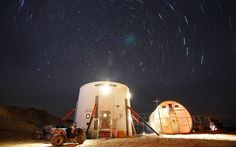 Life on Mars: Scientists live together in Utah desert to simulate life on red planet.  The question is... why?