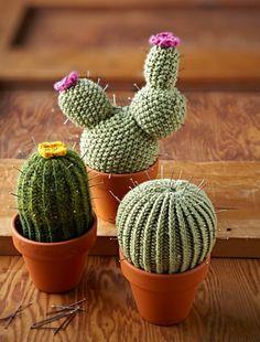Cacti, free on Ravelry