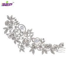 CZ Diamant Tiaras Und Kronen Braut Haarschmuck Für Hochzeiten