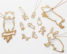 Catch the animal motif jewelry