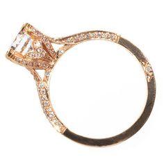 Rose Gold Engagement Rings and Wedding Bands | BRIDES Magazine | Brides.com : Brides -pretty
