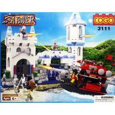 Mainan Lego Brick Sea Rover Benteng Kerajaan ( 3111 )