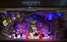 It's Snowing Dior At Printemps | What The Windows?!?