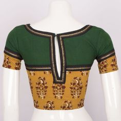 Buy Online Blouses - one stop destination for shopping at Best Prices in India. Select from a wide range of collections available from top brands. Choli Blouse Design, Saree Blouse Neck Designs, Stylish Blouse Design, Stylish Dress Designs, Dress Design Sketches, Designer Blouse Patterns, Kurta Designs Women, Blouse Models, Blouse Styles