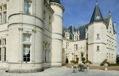 Château de Mirambeau, between Bordeaux & Cognac, France (Courtesy of Château de Mirambeau)   you can spend the night!