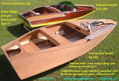 Save $6,600 And Have Fun Doing It. That's The Woody Boater Way! | Classic Boats / Woody Boater