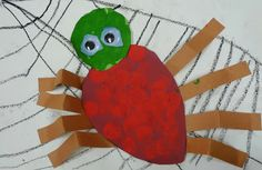Art. Paper. Scissors. Glue!: The Very Busy Spider