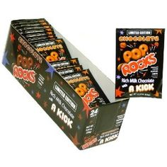 Pop Rocks Chocolate (Pack of 24)