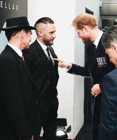 Tom Hardy and Prince Harry - Dunkirk | London Premiere July 13, 2017.