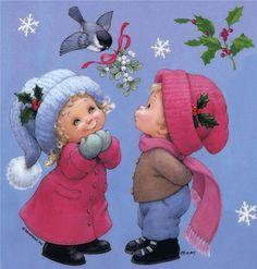 Художник-иллюстратор Ruth Morehead. Новогоднее и рождественское.... Обсуждение на LiveInternet - Российский Сервис Онлайн-Дневников