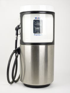 Petrol Pump designed by Eliot Noyes in 1968 for Mobil.