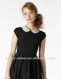 Модели воротников на платье