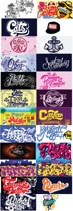 Lettering Time: Kirill Richert