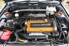"""Ein ganz besonderer Mitsubishi Galant: AMG hat """"auch Mitsubishi getunt"""" …"""