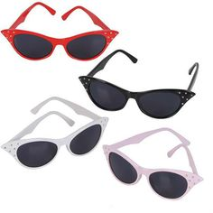 Retro Cats Eye Sunglasses Case Pack 300