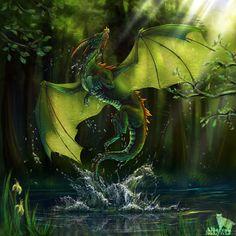 Dragon_var.II by ~AlsaresNoLynx on deviantART