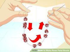 Image titled Make Rose Petal Beads Step 15