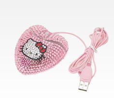 Hello Kitty Optical Mouse: Bling Pink. Every girl should have this mouse!
