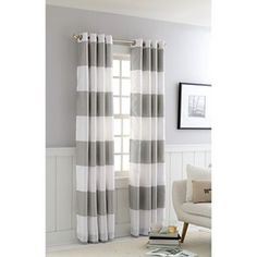 Threshold™ Bold Stripe Curtain Panel
