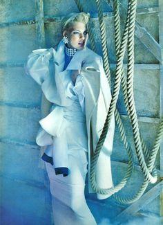 Javier Vallhonrat / Vogue UK September 1991.