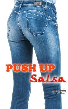 Jean push-up bleu Salsa