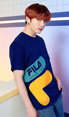 Jungkook in Fila Bts Jungkook, Kim Namjoon, Kim Taehyung, Yoongi, Seokjin, Jung Kook, Korean Boy Bands, South Korean Boy Band, Busan
