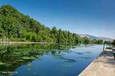 Pool in Dihovo village near Bitola, Macedonia