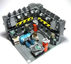 Sci-Fi power plant 006