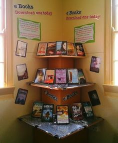 eBooks - Library Displays