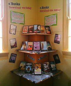 e-books display