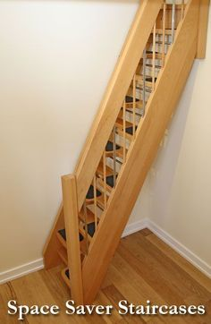 space saver staircases that is perfect for a tiny house.