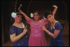 "Armelia McQueen, Nell Carter and Debbie Allen in a scene from the Broadway production of the musical ""Ain't Misbehavin'."" (1978)"
