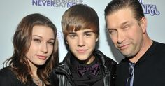 Watch Hailey Baldwin's dad awkwardly introduce her to Justin Bieber