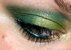 St. Patrick's Day makeup. #TargetStyle