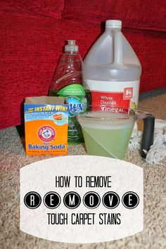 1000 Ideas About Carpet Stain Removal On Pinterest