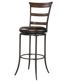 Hillsdale Furniture - Cameron Ladderback Swivel Counter Stool