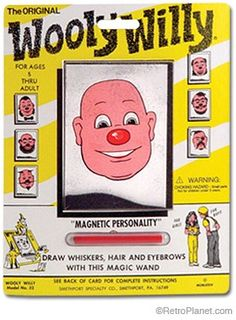 Wooly Willy: The Toy No One Wanted.  Fact vs. opinion activity from the article, and then to express your own opinion about whether Wooly Willy is a great toy, or not.