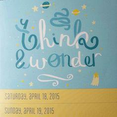 +0418 - 04192015. think & wonder.