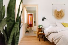 Home Tour: A Sun-Drenched Getaway for Lisa & Michael Fine, Co-Founders of Quiet Town - Front + Main Master Bedroom Bathroom, Bedroom Decor, California Cool, Interior Photography, Story House, Co Founder, Mid Century Furniture, My Room, Service Design