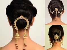 Vintage hair comb Indian Bollywood hair accessory hairpin headpiece (AAK). $29.00, via Etsy.