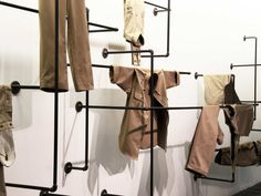 Visual Merchandising | Display | {geometric, layers, depth}  retail display + visual merchandising