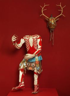 Skeleton Dance Costume | late 19th or early 20th century | Tibet