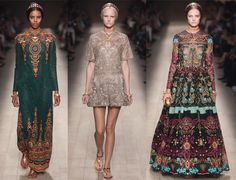 Can't beat a bit of Valentino on a rainy Sunday afternoon #PFW #Valentino #SS14